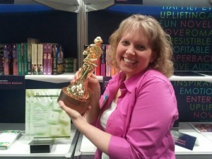 Dreaming of winning a RITA at BookExpo America.  One year later I was nominated for my book GRAVE DANGER.