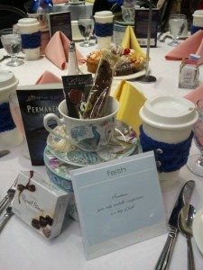 Table Favors for the Barbara Vey Reader Luncheon 2015.